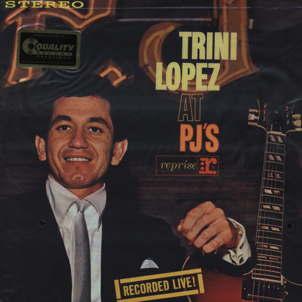 Trini Lopez At P.J.s (1963) 180g Vinyl - Limited Edition