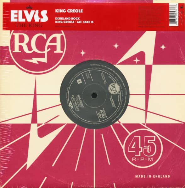 Elvis The King - 18 Of The Greatest Singles Ever Vol.9 (10inch EP, 45rpm, Ltd.)