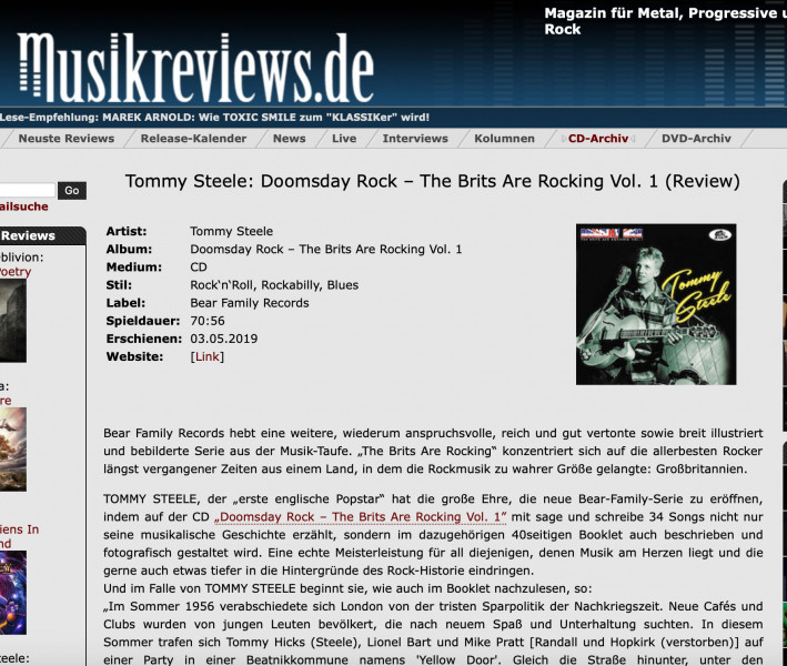 Presse-Tommy-Steele-Doomsday-Rock-The-Brits-Are-Rocking-Vol-1-musilreviews
