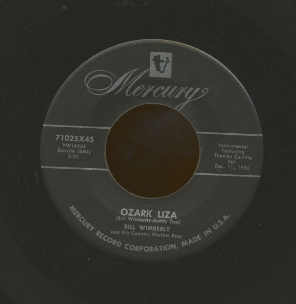 Ozark Liza - I'll Have To Die To Gorget You (7inch, 45rpm)