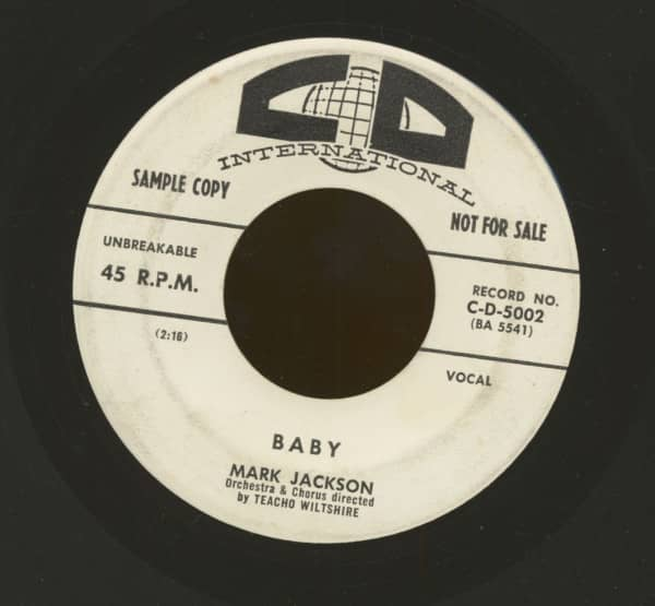 Baby - There Goes My Heart Again (7inch, 45rpm)