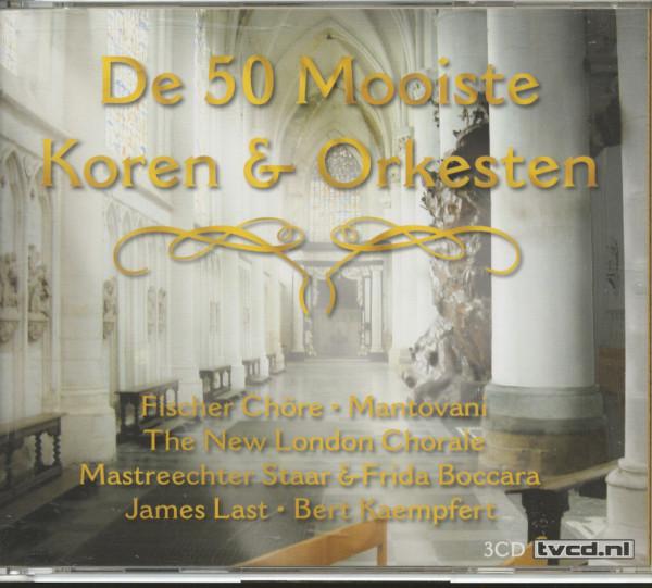 De 50 Mooisten Koren & Orkesten (3-CD)
