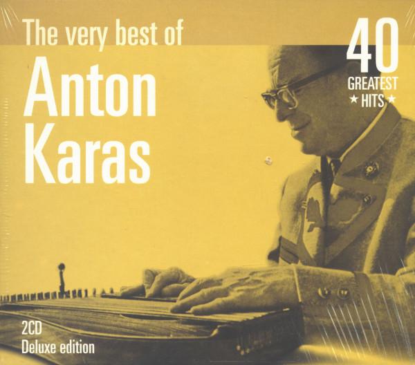 The Very Best Of Anton Karas - 40 Greatest Hits (2-CD)
