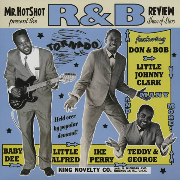 Vol.3, Mr.Hotshot's R&B Review (10'LP)