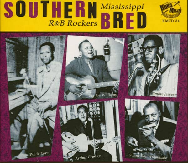 Southern Bred Vol.1 - Mississippi R&B Rockers (CD)