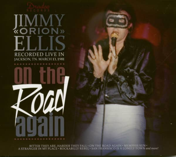 Jimmy 'Orion' Ellis - On The Road Again (CD)