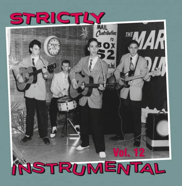 Strictly Instrumental Vol.12 (CD)