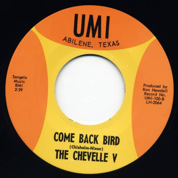 I'm Sorry Girl - Come Back Bird 7inch, 45rpm