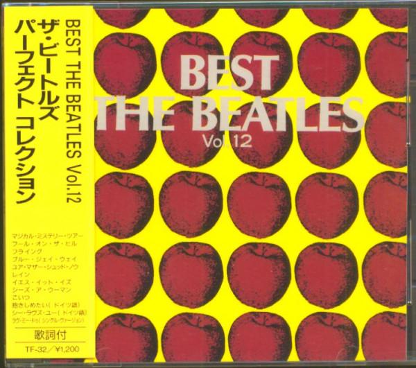 Best - The Beatles, Vol.12 (CD, Japan)