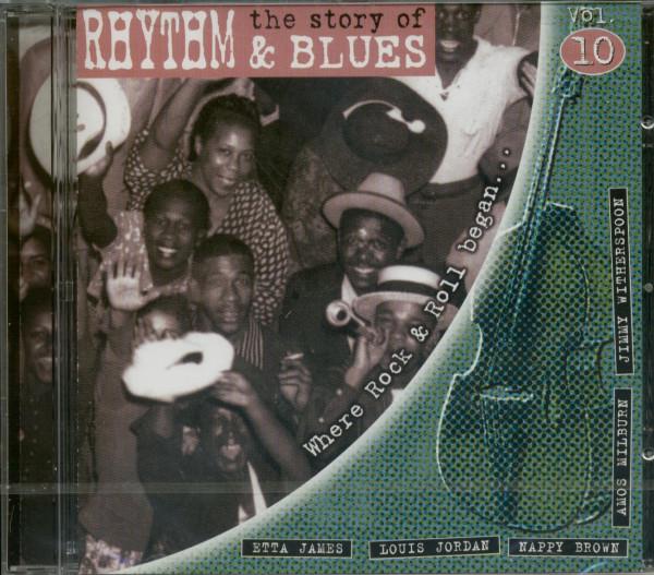 Vol.10, The Story Of Rhythm & Blues (CD)