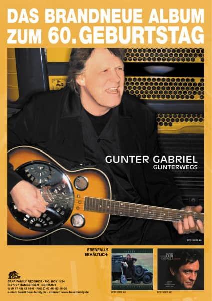 Gunter Gabriel - Gunterwegs