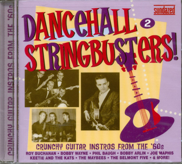 Dancehall Stringbusters Vol.2 - Crunchy 60s (CD)