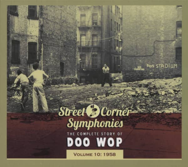 Vol.10, 1958 Street Corner Symphonies