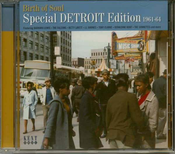 Birth Of Soul-Special Detroit Edition 1960-64 (CD)