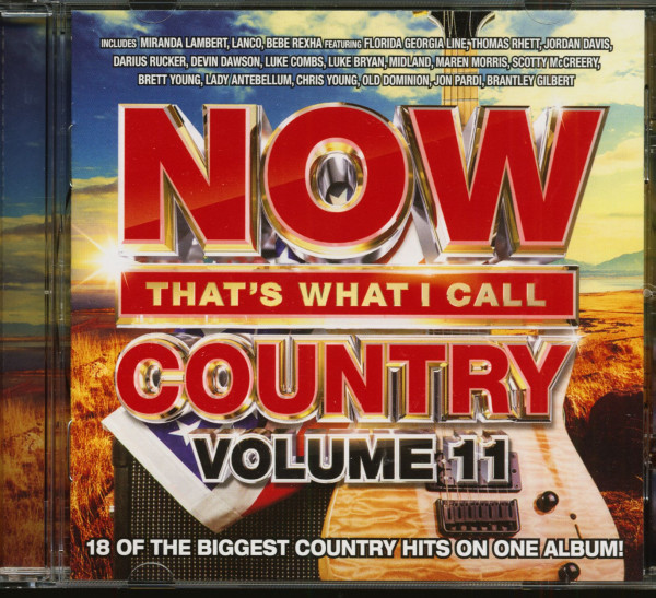 Now That's What I Call Country Vol.11 (CD)