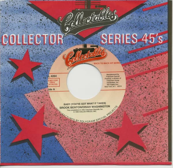 Baby (You've Got What It Takes) - A Rockin' Good Way (To Mess Around And Fall In Love (7inch, 45rpm,
