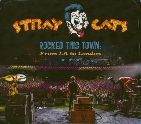 Rocked This Town (2-LP, Blue Vinyl, Ltd.)
