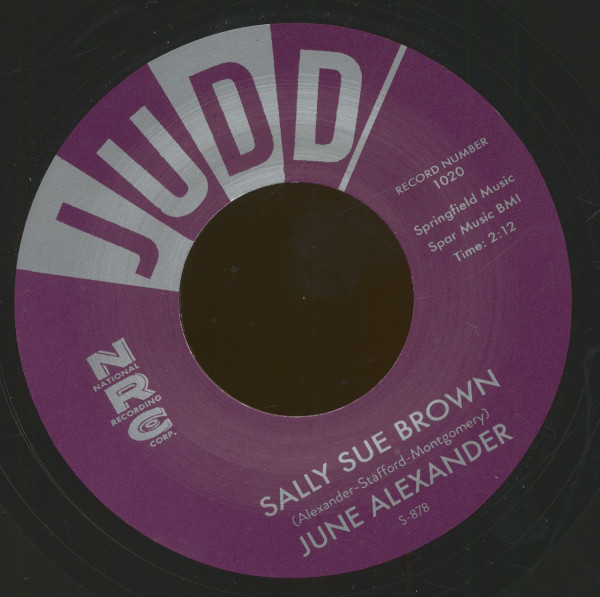 Sally Sue Brown - The Girl That Radiates That Charm (7inch, 45rpm)