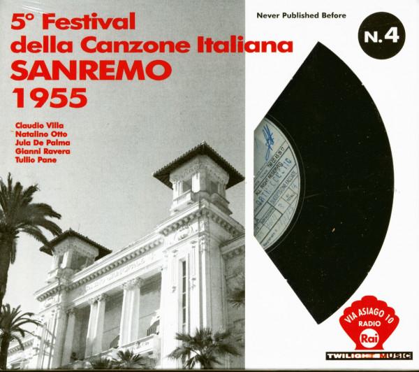 5th Festival Della Canzone Italiana - Sanremo 1955 (CD)