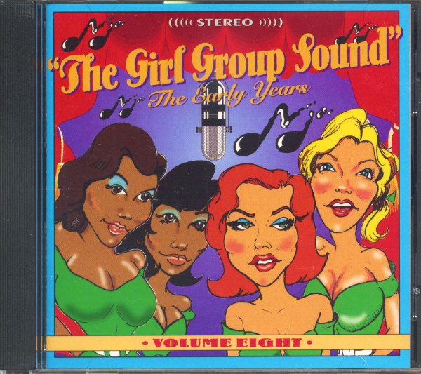 The Girl Group Sound Vol.8 - The Early Years (CD)