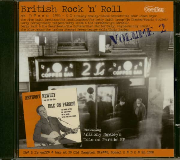 British Rock'n'Roll At Decca Vol.2 (CD)