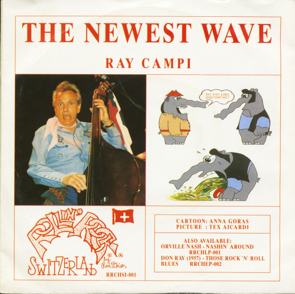 Ray Campi - Johnny & The Roccos (7inch, 45rpm, PS)