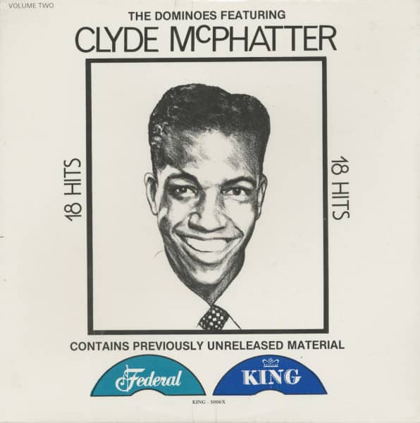 The Dominoes Featuring Clyde McPhatter - 18 Hits, Volume 2 (LP)