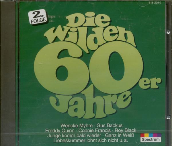Die wilden 60er Jahre Vol.2 (CD)