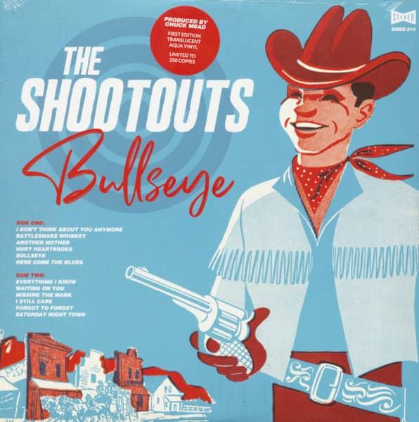 Bullseye (LP, Colored Aqua Vinyl, Ltd.)