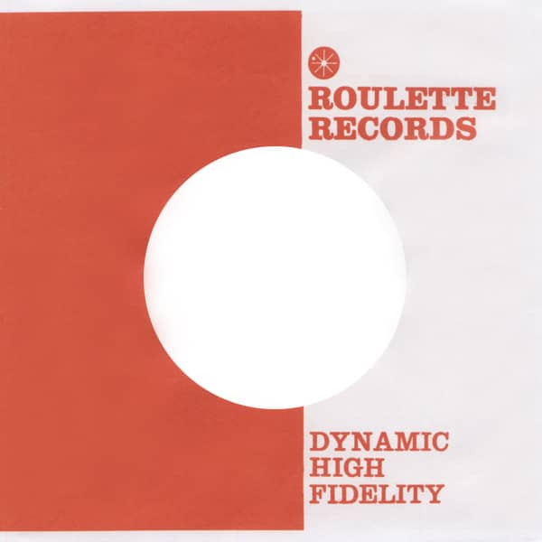 (10) Roulette - 45rpm record sleeve - 7inch Single Cover