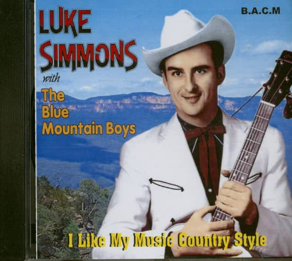 I Like My Music Country Style (CD)