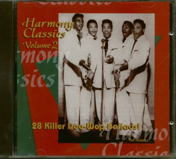Harmony Classics Vol.2 - 28 Killer Doo-Wop Ballads! (CD)