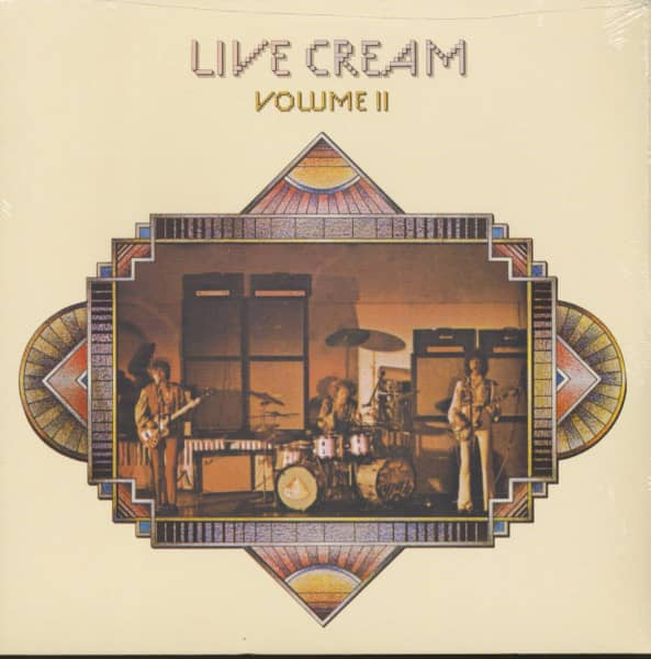 Live Cream, Vol.2 (LP, 180g Vinyl)