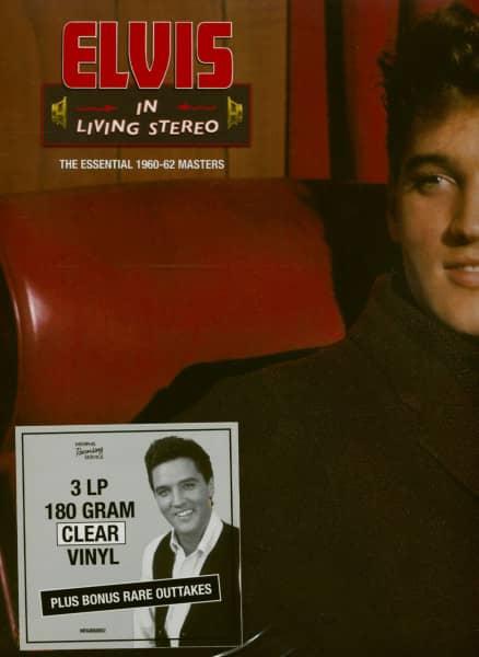 In Living Stereo (3-LP, 180g, Clear Vinyl, Ltd.)