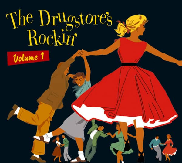 Vol.1, The Drugstore's Rockin' (CD)