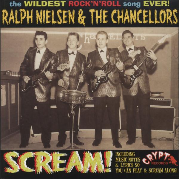 Scream! 7inch, 45rpm, PS, gatefold