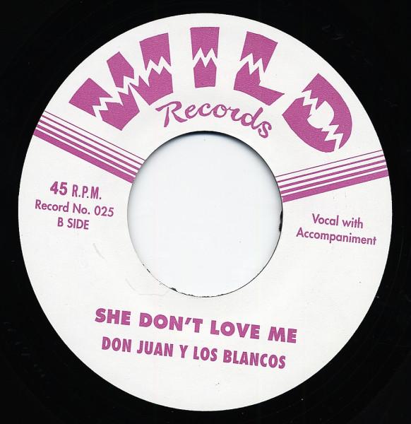 DON JUAN & LOS BLANCOS Mean Streak - She Don't Love Me 7inch, 45rpm, CS, ltd.