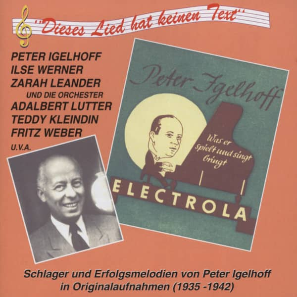 Schlager und Erfolgsmelodien von Peter Igelhoff 1935-1942 (CD)