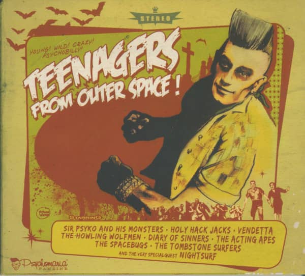 Teenagers From Outer Space! (CD Digipak)