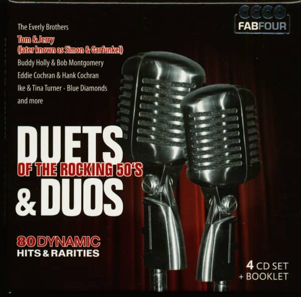 Duets & Duos Of The Rocking 50s (4-CD)