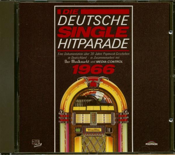 Die Deutsche Single Hitparade 1966 (CD)