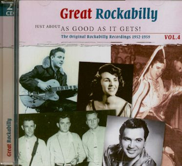 Great Rockabilly Vol.4 - As Good As It Gets (2-CD)