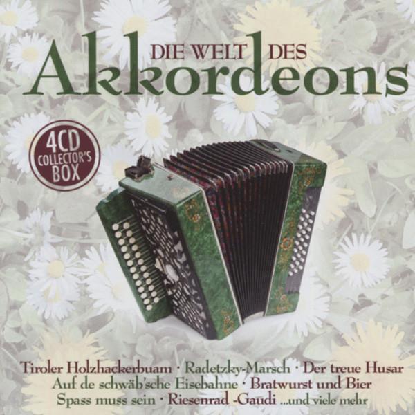Die Welt des Akkordeons (4-CD)
