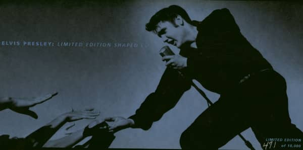 Elvis Presley - Limited Edition Shaped CD