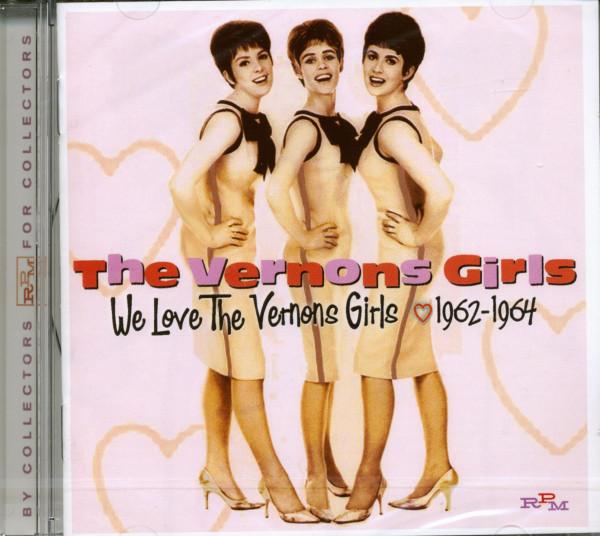 We Love The Vernons Girls 1961-64 (CD)