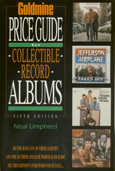 Goldmine Price Guide To Collectable Record Albums 5th Edition