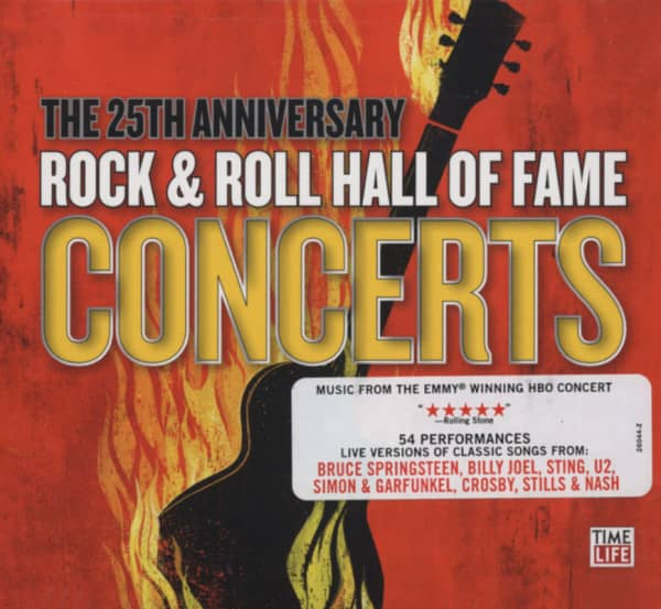 R&R Hall Of Fame Concerts 25th.Ann.(4-CD)