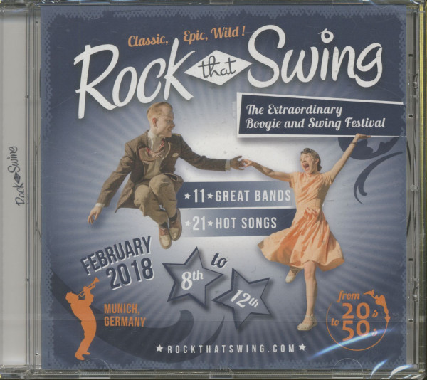 Rock That Swing - Festival Compilation 2018 (CD)