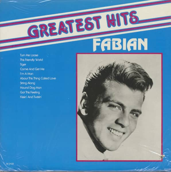 The Greatest Hits Of Fabian (LP)