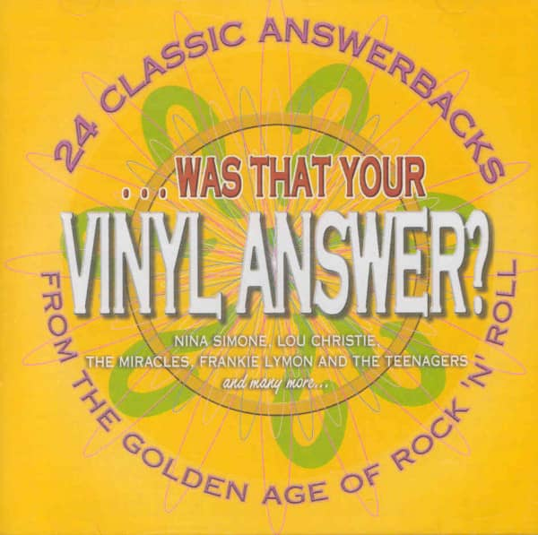 Was That Your Vinyl Answer ? (CD)